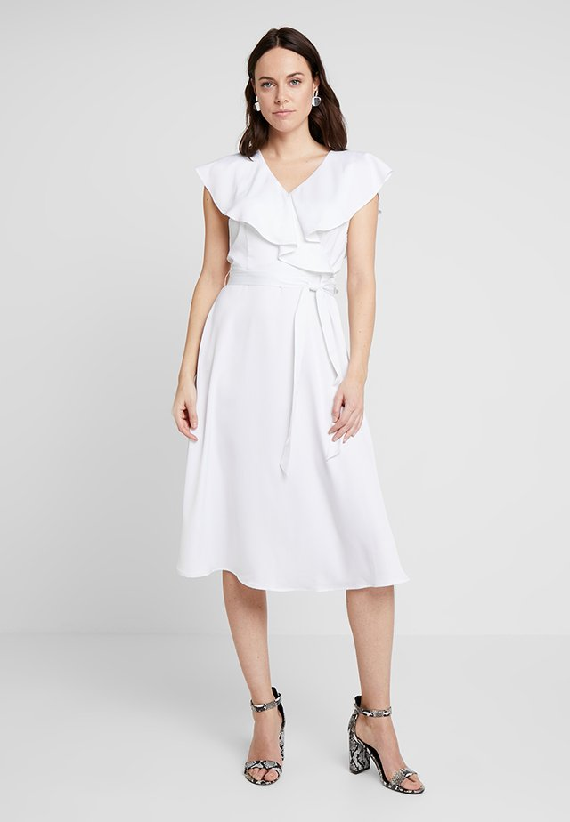 FORMAL LONG DRESS - Day dress - optical white