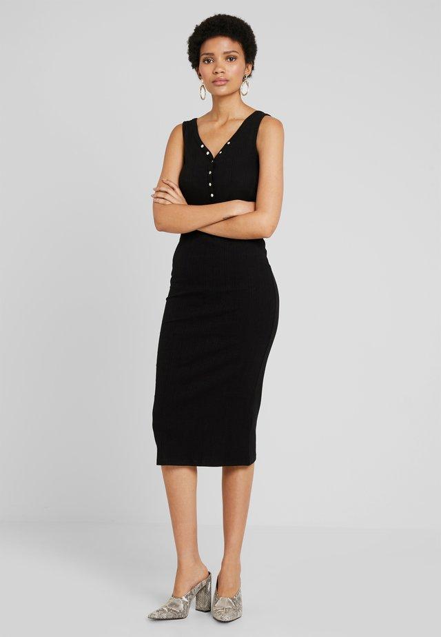 POPPER VARY  MIDI - Maxi dress - black