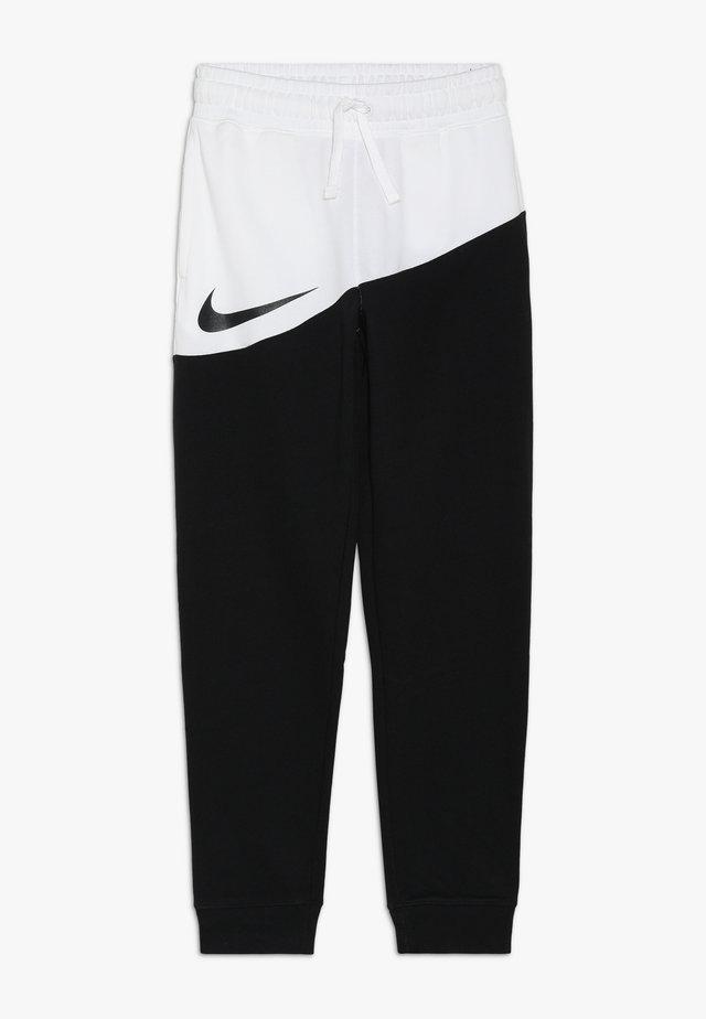 PANT - Jogginghose - black/white