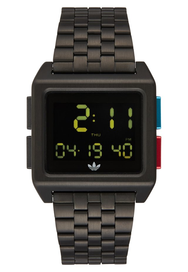 ARCHIVE M1 - Reloj digital - all black/blue/red