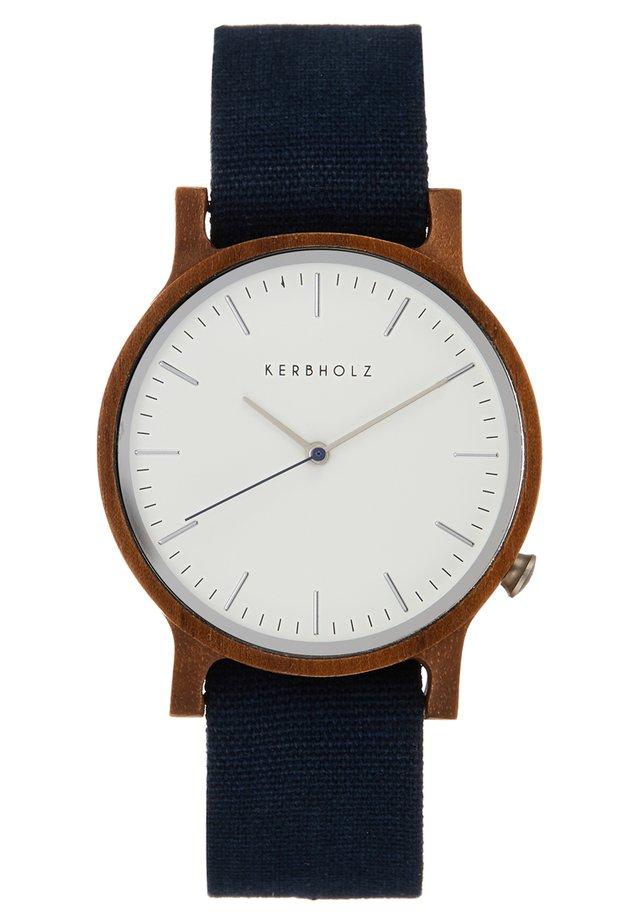 WALTER - Watch - dark blue