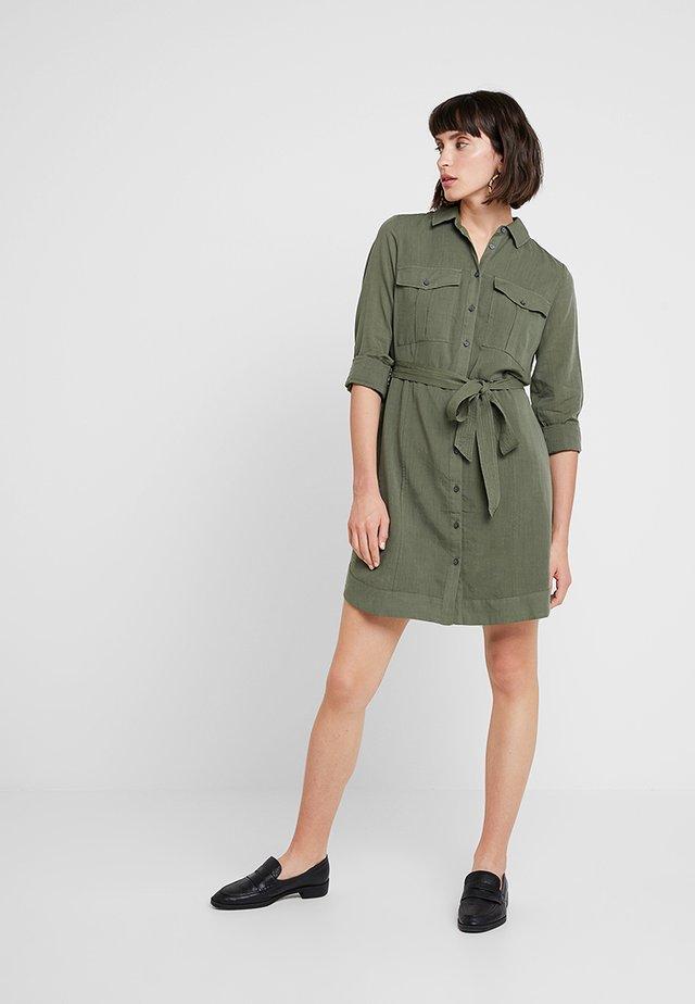 UTILITY - Shirt dress - flight jacket