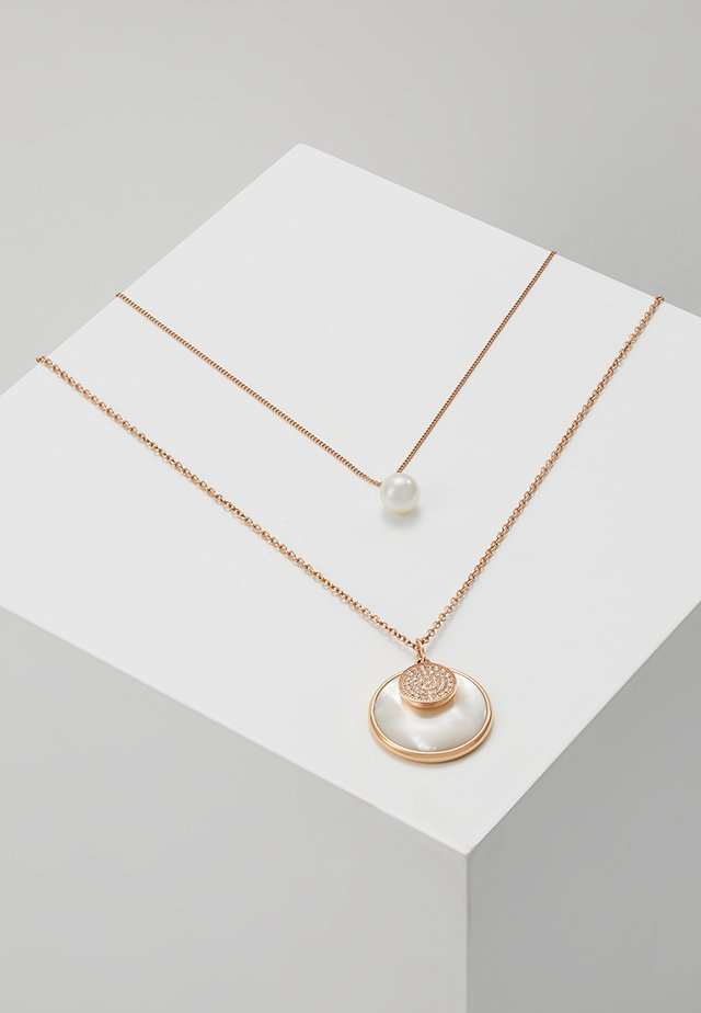 CLASSICS - Ketting - roségold-coloured