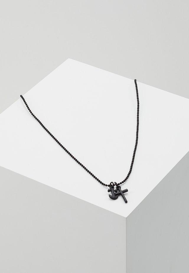ANCHORED NECKLACE - Smykke - black