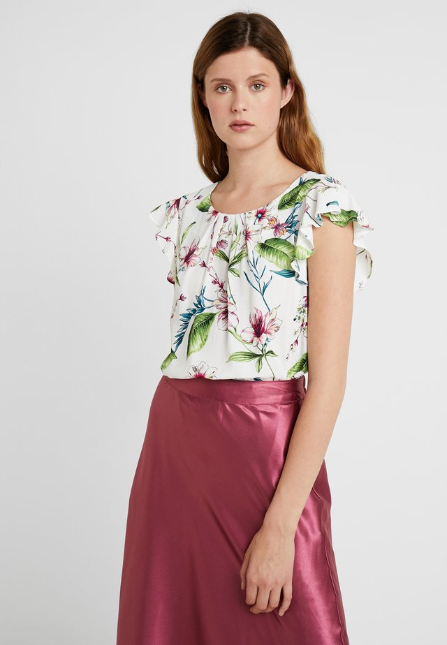 GARDEN FLORAL - Blouse - ivory
