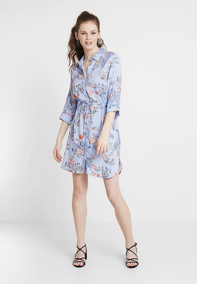 BYHAILEY DRESS - Shirt dress - blue combi