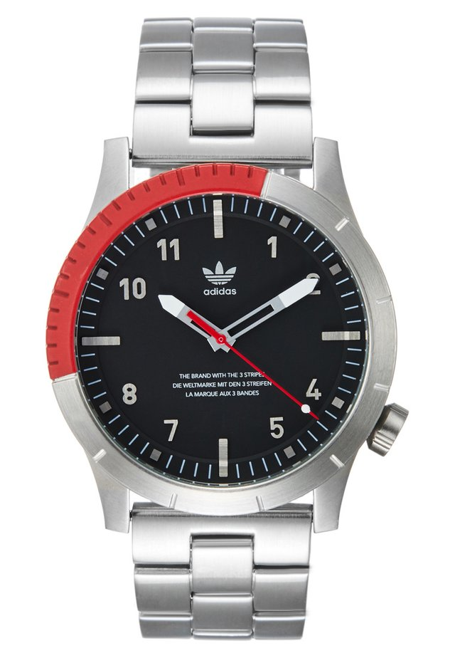 CYPHER M1 - Watch - silver/black/red