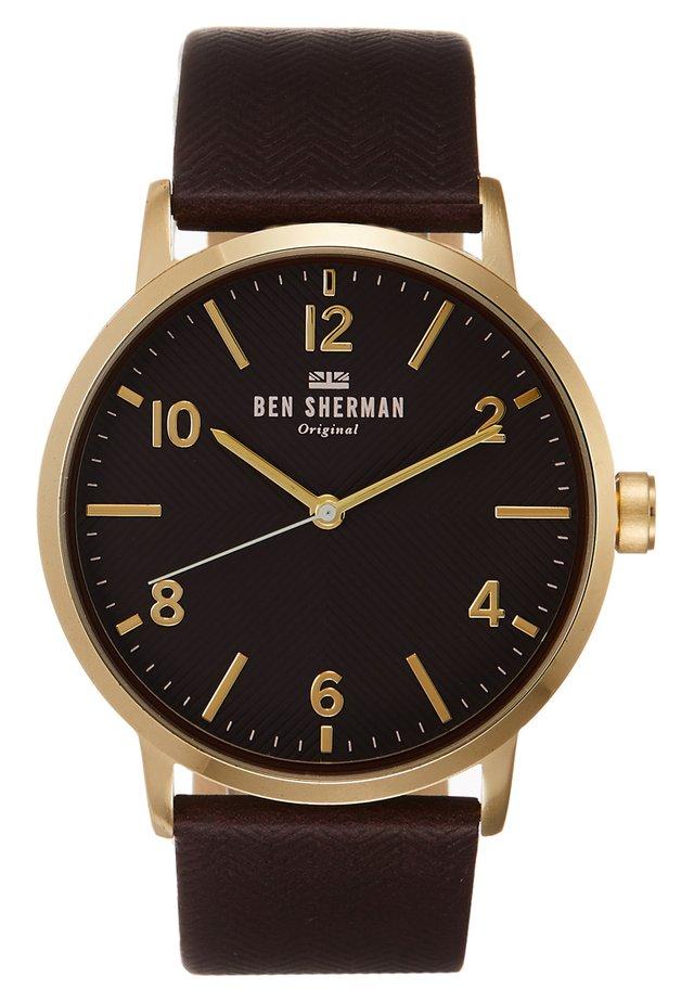 BIG PORTOBELLO HERRINGBONE - Uhr - schwarz