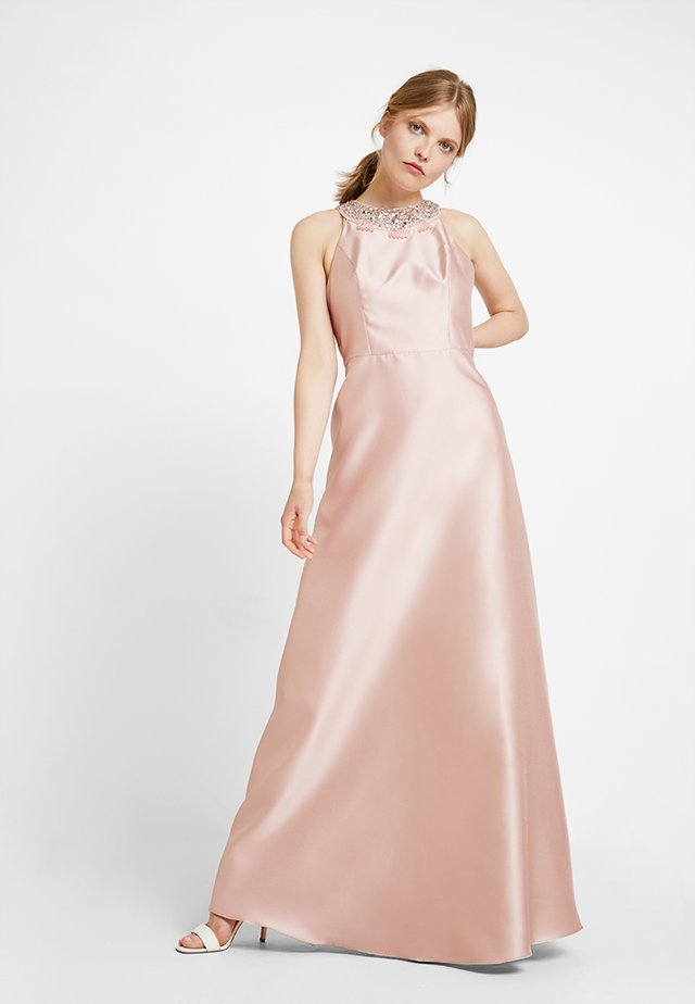 HALTER GOWN - Occasion wear - blush