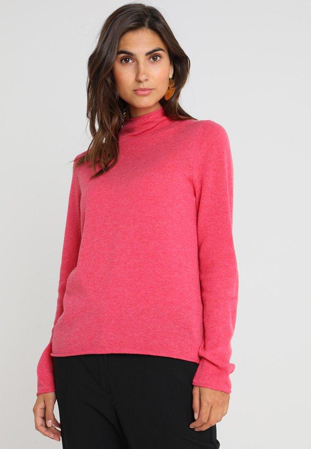 Sweter - bright flamingo