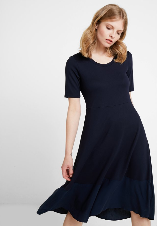 DRESS LONG - Jerseykjoler - midnight blue