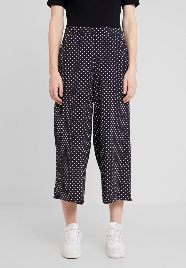KAWAI CULOTTE PANTS - Trousers - night sky