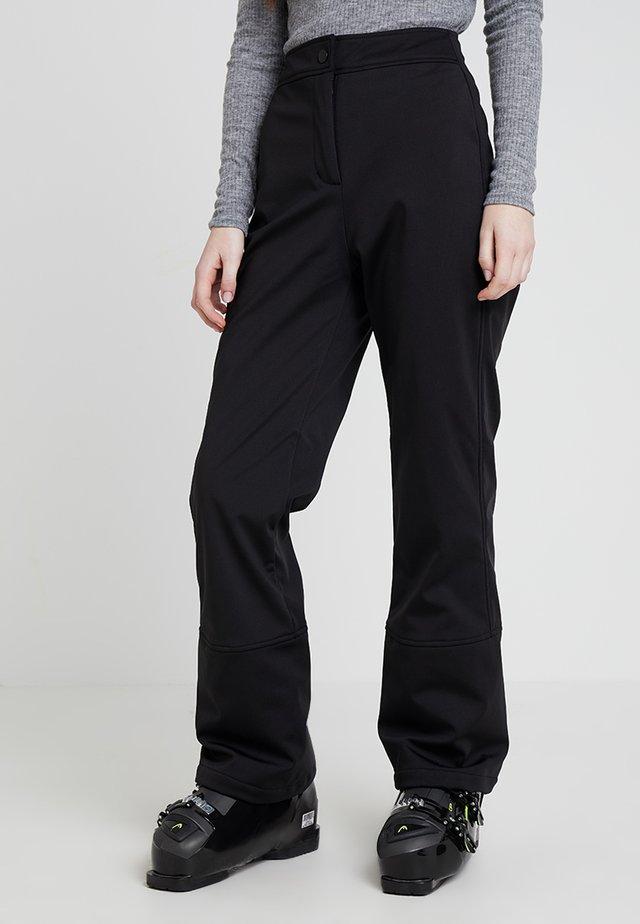 SALLOPETTES - Trousers - black