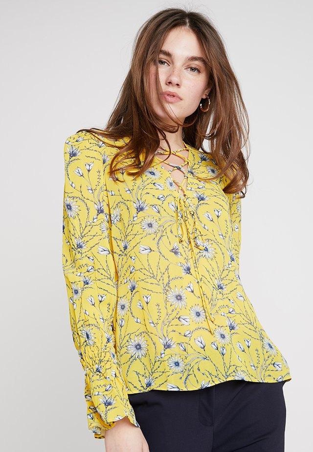 Blouse - strong yellow
