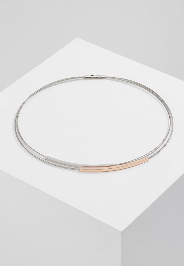 ELIN - Necklace - silver-coloured/ rosegold-coloured