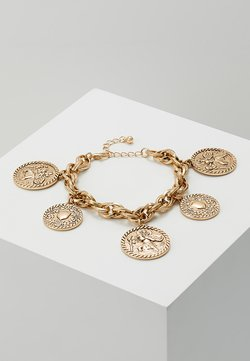 CHARM BRACELET - Armband - antique gold-coloured