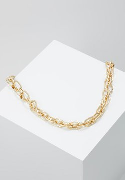 TEXTURED LINK CHAIN NECKLACE - Halskette - gold-coloured