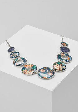 COLLAR KORA - Collier - silver-coloured/blue