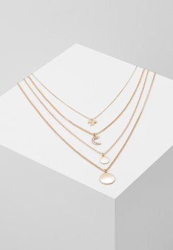 ONLANNO 4 CHAIN NECKLACE  - Ketting - gold-coloured
