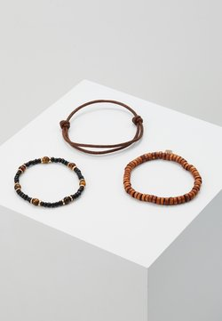SHAKE UP COMBO - Bracelet - brown