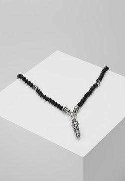 Collier - silver-coloured/black