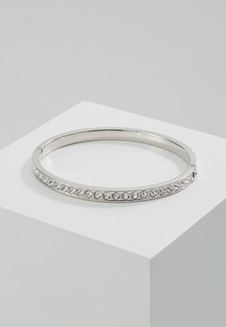 CLEMARA HINGE BANGLE - Armband - silver-coloured/crystal