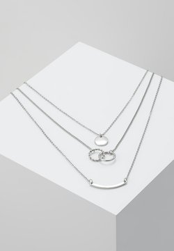 PCTINNA COMBI NECKLACE - Ketting - silver colour