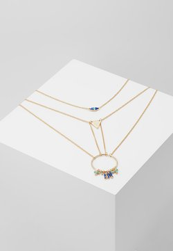 MULTI ROW CHARM 2 PACK - Ketting - gold-coloured