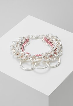 KAILASH MIX CHAIN - Armband - pink/white