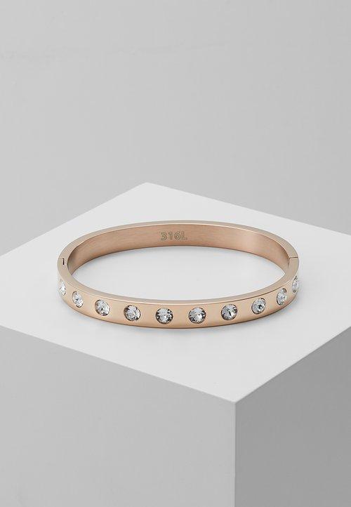 Guess Crystal Touch Bracelet Rosegold Coloured Zalando Co Uk
