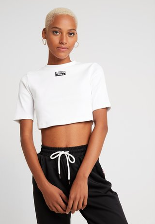 TEE - T-shirt basic - white/black