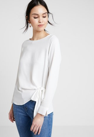 TIE SIDE  - Blouse - ivory