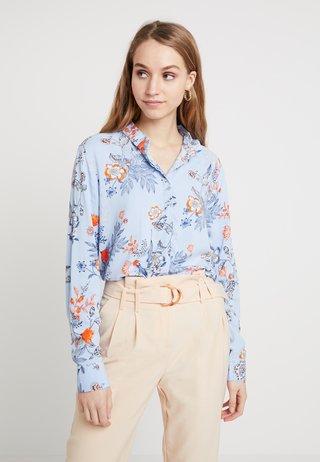 BYHAILEY - Button-down blouse - blue