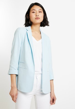 SELF BUTTON PONTE - Blazer - sky