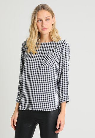 BLOUSE NORMAL FIT SLEEVED - Bluse - combo
