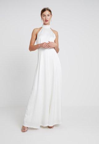 NECKHOLDER BRIDAL DRESS - Ballkleid - snow white