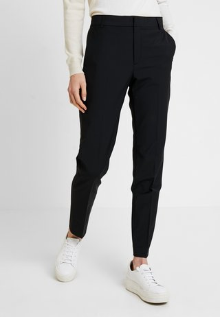 ZALA CIGARETTE PANT - Trousers - black
