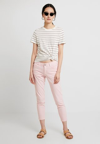 SHAPE ANKLE - Trousers - light rose