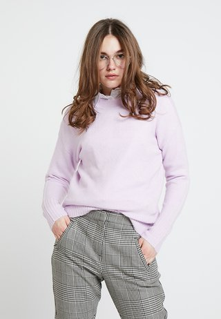 ANGELICA LEAD IN STRETCH JUMPER - Strickpullover - lilac