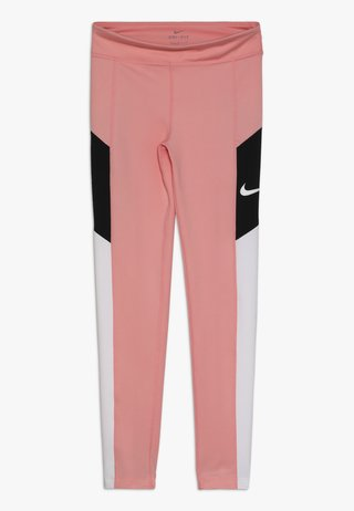 TROPHY - Tights - bleached coral/white/black