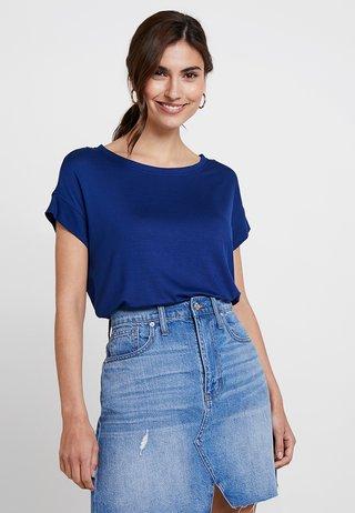 KURZARM - T-Shirt basic - indigo