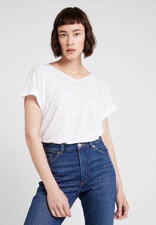 KURZARM - T-shirts print - white