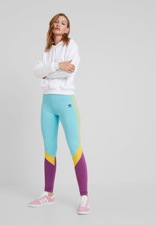 TIGHTS - Leggings - Trousers - easy mint