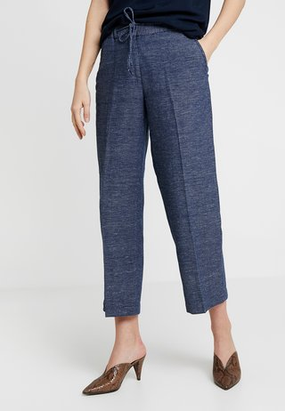 MAURI SPOT - Trousers - simply blue