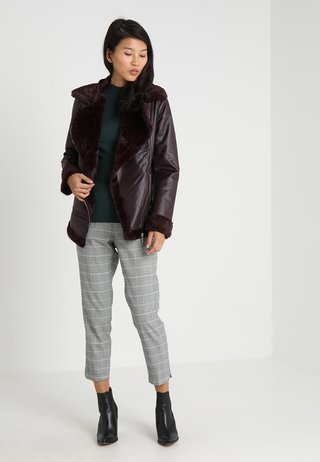 Winter jacket - burgundy