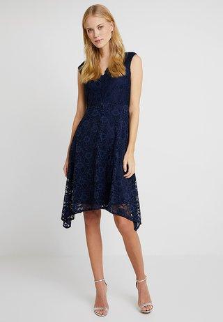 HANKY DRESS - Cocktailkjoler / festkjoler - dark blue