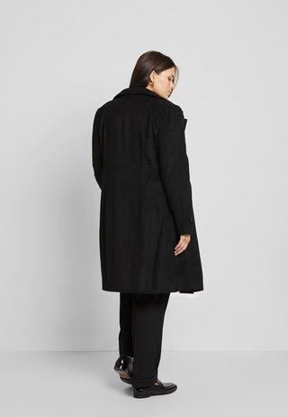 Płaszcz wełniany /Płaszcz klasyczny - black