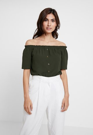 BARDOT - Bluse - green