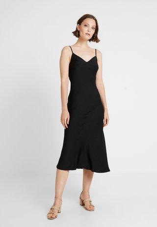 BLISS SLIP DRESS - Maxi dress - black