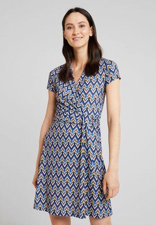 Jerseykleid - multicolored/blue